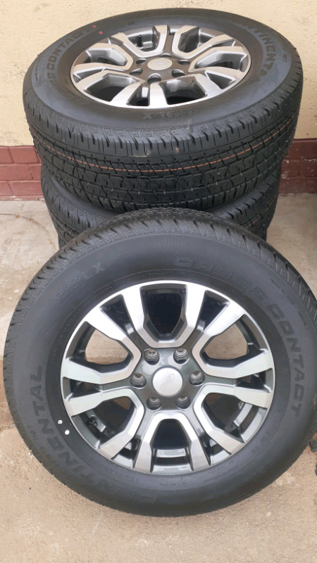 Wildtrack rims and tyre
