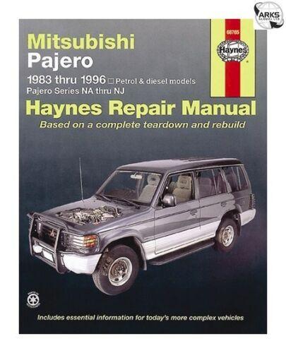 83-96 HAYNES Mitsubishi Pajero 68765