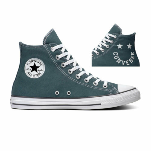 Schwarz Converse Sneaker High Chuck Taylor All Star Weiß Hi Faded Spruce