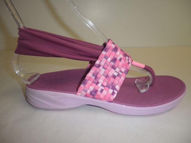 4c7283951ddd Vionic Orthaheel Serene Tia Berry Active Sling Sandals Womens Sz 8 ...