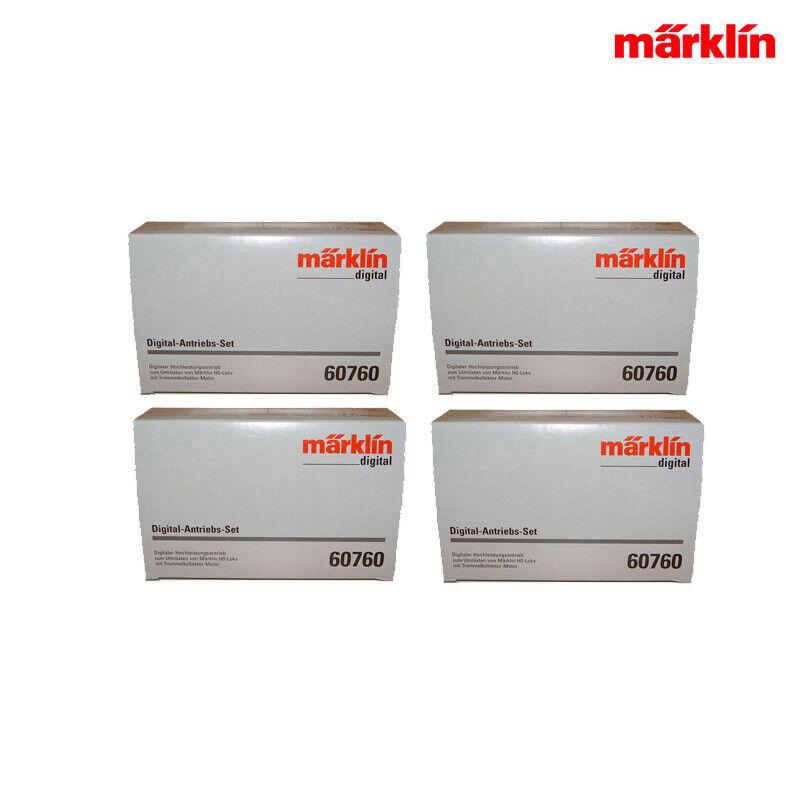 Marklin Digital 60760-04 - meccanismo di azionamento-Set  motore + decoder (4 pezzi in scatola originale) +++ NUOVO  liquidazione fino al 70%