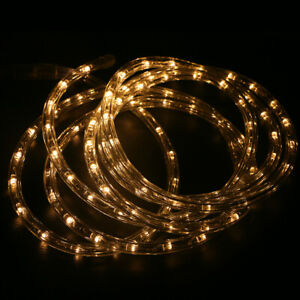 10-Feet-LED-Rope-Light-Indoor-Outdoor-Waterproof-LED-Strip-Decor-White-Blue-Red