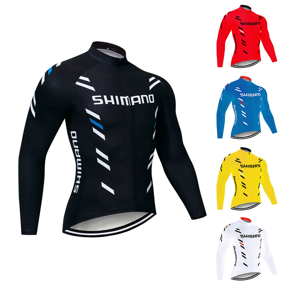 2020 Mens Cycling Jersey MTB Road Long Sleeve Biking Tops Bicycle Shirts Maillot