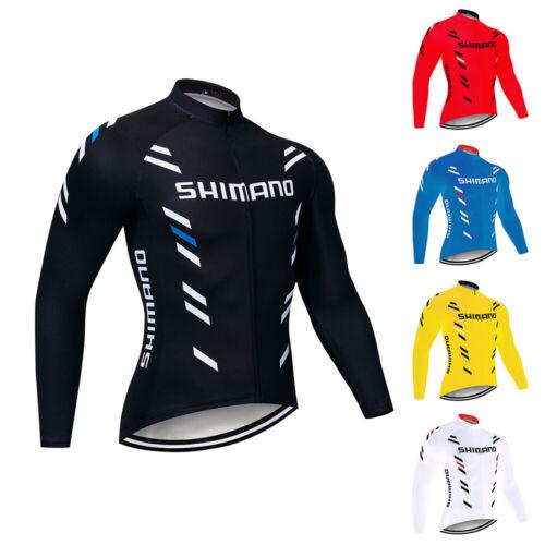 2020 Men/'s Cycling Jersey Long Sleeve Bike Tops Bicycle Shirts Maillots Jacket