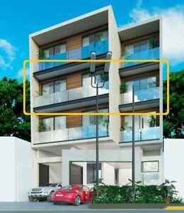 Moderno departamento exterior con el mejor diseño y precio de la zona