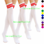3-Women-039-s-Striped-Thigh-High-Socks-Sheer-Over-The-Knee-Plus-Size-Stockings-USA thumbnail 6