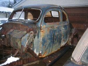 1938 Ford Coupe Project