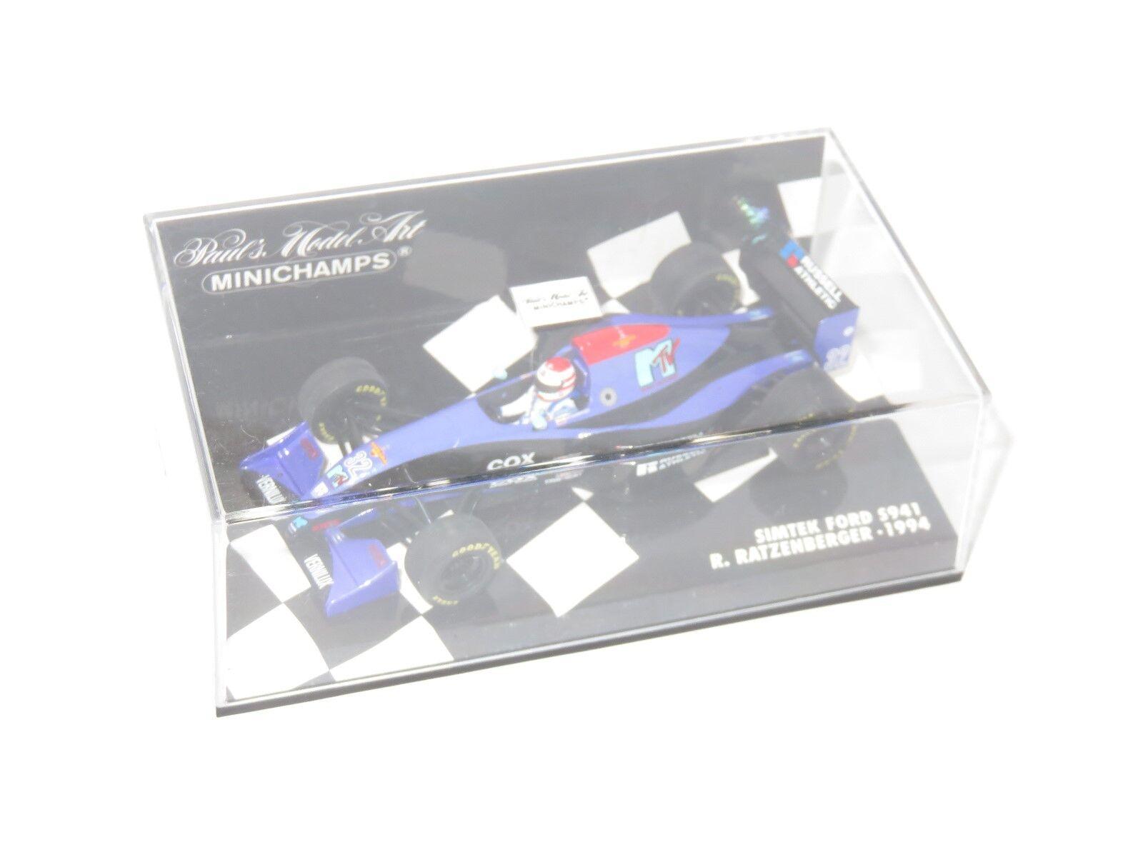 1/43 MTV Simtek S941 FORD S941 Simtek Roland Ratzenberger saison 1994 23498d