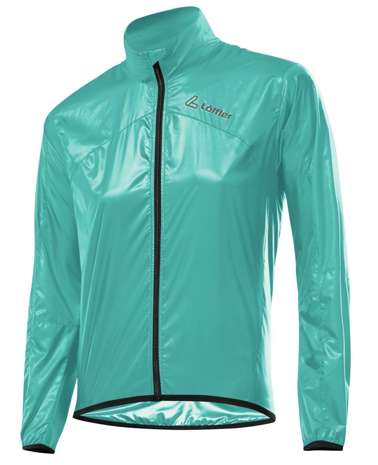 Löffler Damen Radsport Bike Jacke Windshell pool blau