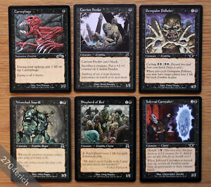 Lot-of-6x-Pauper-Legal-Zombie-Cards-Old-School-NM-Magic-MTG-Carnophage