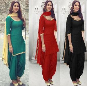 Pakistani Designer Punjabi Suits Indian Readymade Salwar Kameez  stitched