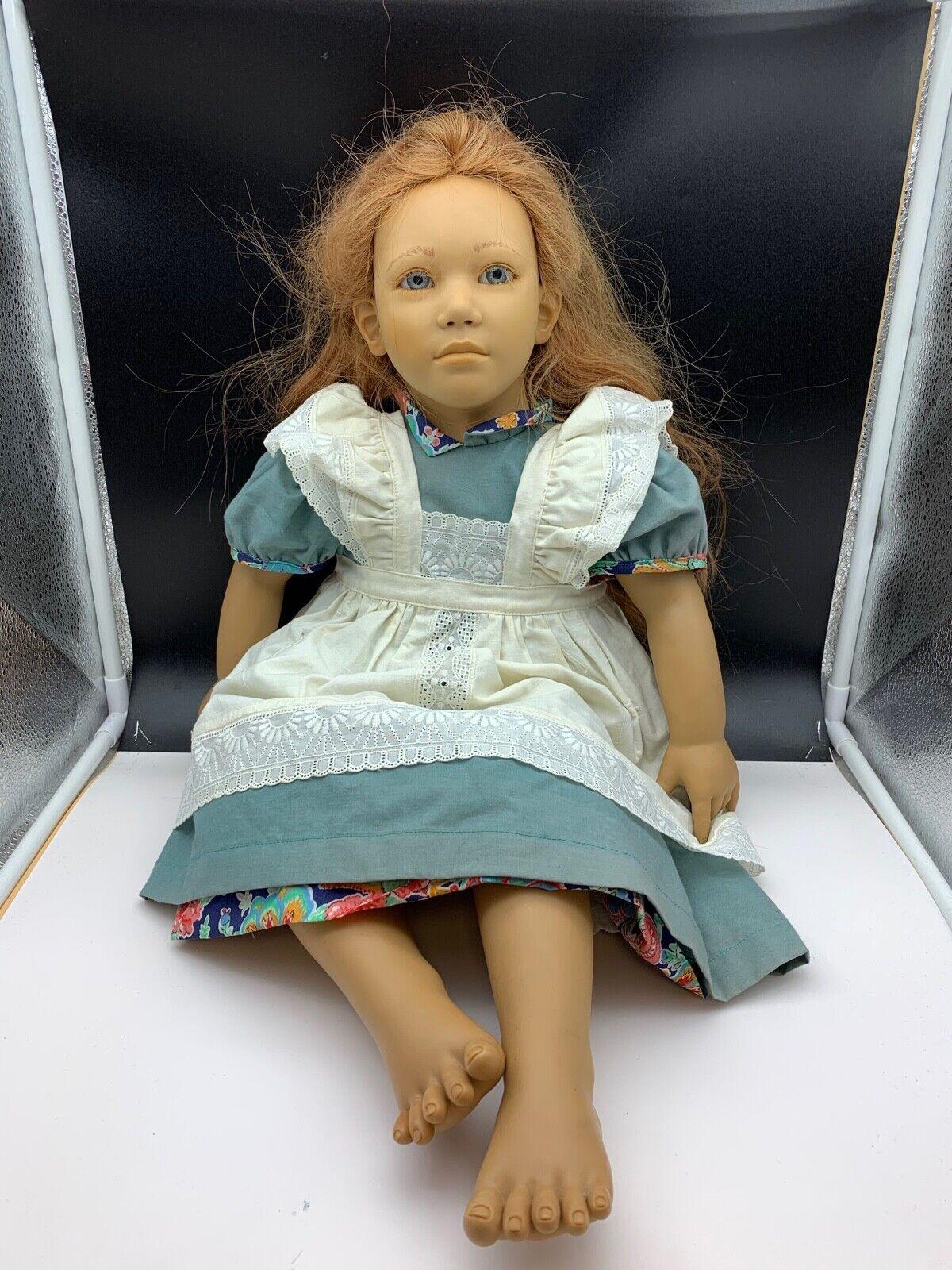 Annette Himstedt Puppe Adrienne 63 cm. Top Zustand. Zustand. Zustand. Sehr selten. cee014