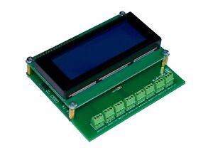 8 Channel Temperature Data Logger V2 -55...+125 C Bluetooth DS18B20 Wireless