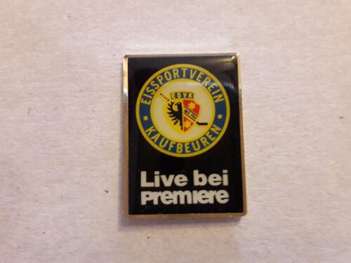 DEL Eishockey Pin ESV Kaufbeuren 93/94 Live bei Premiere DEB NHL Fanartikel
