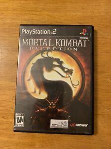 Mortal-Kombat-Deception-PlayStation-2-2004-Complete-Black-Label-PS2