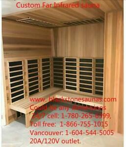 Blackstone zero EMF far infrared sauna on sale,  EMF reading average less than 0.8.also can use for hot yoga panel Canada Preview