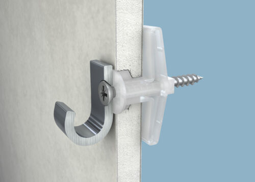 10mm Plasterboard Cavity Wall Heavy Duty Fixings Plugs With Screws Drywall