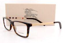 Brand New BURBERRY Eyeglass Frames BE 2159Q 3002 Havana For Men 100% Authentic