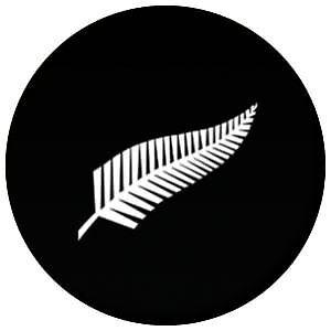 New Zealand Fern Pin Button Badge Magnet Keyring Bottle Opener Mirror