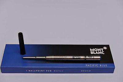 KUGELSCHREIBER-MINE ORIGINAL MONTBLANC B BLAU / REFILL PACIFIC BLUE, 105149, NEU