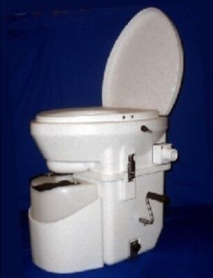 Nature S Head Composting Toilet Standard Handle White