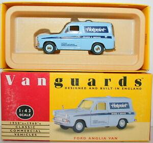 Vanguards 1/43 VA4002 FORD Anglia Van Hotpoint