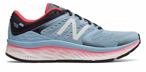 New Balance Women's Fresh Foam 1080V8 Shoes Blue With Pink & Black