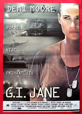G.I. JANE 1997 DEMI MOORE VIGGO MORTENSEN RIDLEY SCOTT UNIQUE EXYU MOVIE POSTER