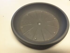 16-Blumenuntersetzer-Untersetzer-Cylindro-29-cm-Anthrazit-Hersteller-Geli
