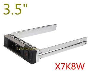 """3.5/"""" HDD TRAY CADDY Bracket For Dell G14 R740 R740xd R440 R540 R940 R640 X7K8W"""