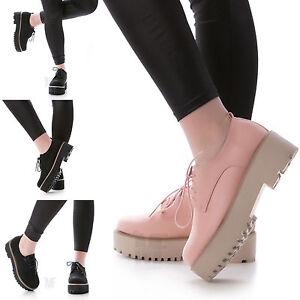 scarpe-donna-francesine-parigine-stringate-oxford-inglesine-carrarmato- 5d0104994fd