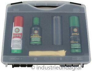 Ballistol-Schnellbruenierung-Set-Bruenierung-Robla-Kaltentfetter-Universaloel-50-ml
