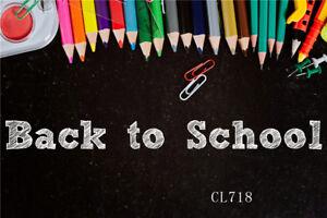 7x5ft back to school pencil vinyl photography backdrop studio photo