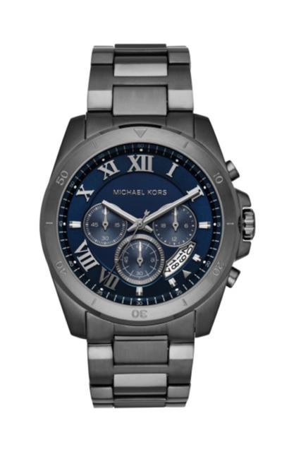 430adde747ee Men s Michael Kors Gunmetal Chronograph Brecken Watch MK8582 for ...