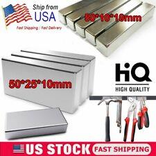 15pcs Big Block Magnets Super Strong N52 Neodymium Large Magnet Rare Earth 50mm