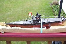 WWII GERMAN U-BOAT U-99 METAL MODEL SUBMARINE ***FAIRFIELD MINT*** MIB