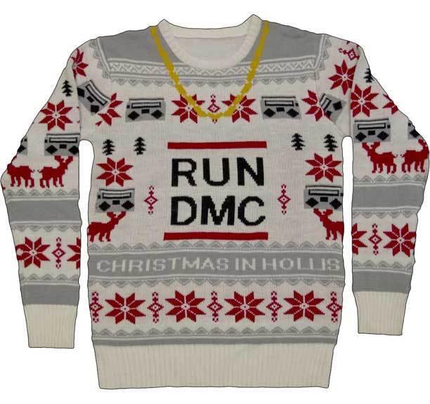 Run DMC Catena D'oro Vacanza Natale da Uomo Adulto Adulto Adulto Brutto Maglione Natalizio 509c2d