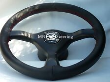 FITS NISSAN SKYLINE R32 STEERING WHEEL COVER RED STITCH