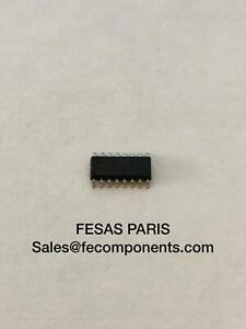 74HCT259D (IC), Low Level Triggered D Latch, True Output, PDSO16 [Lot de 5]