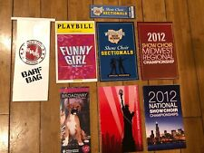 Official Glee Program Ticket Playbill Prop Lot