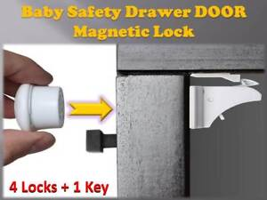 Invisible Magnetic Baby Safety Locks Child Pet Proof