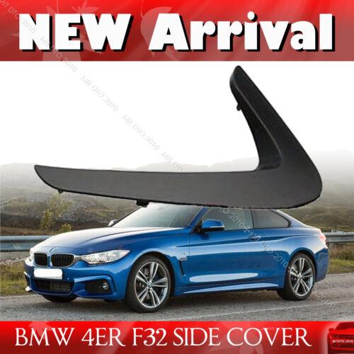 MATT BLACK BMW 4 Series F32 F33 F36 Side Vent Fender Dust 2017 428i 440i