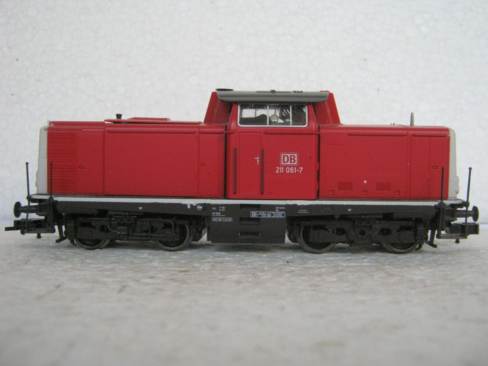 Digital roco ho dc 63416 diesel Lok br 211 061-7 DB (rg cn 192-77r2 1)