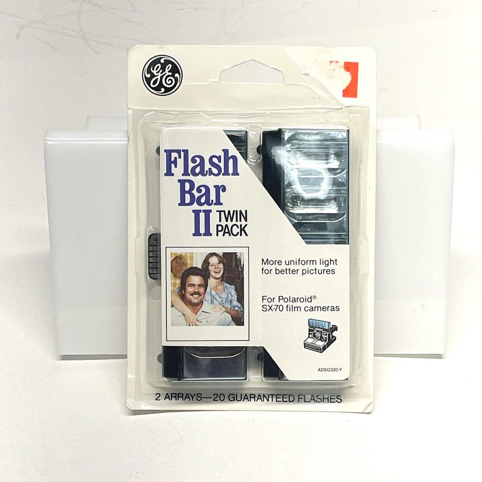 ^ General Electric Flash Bar II for Polaroid SX-70 Instant Camera New Old Stock