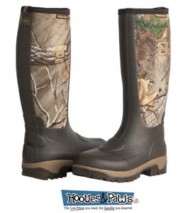 Noble Outfitters Impermeable lodos botas para hombre frente Frío Bota Marrón Camuflaje De Alta