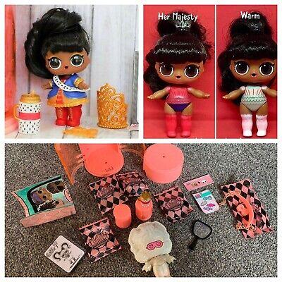 lol Surprise doll Big Sister HER MAJESTY Long Black Hair Kids Birthday Gift
