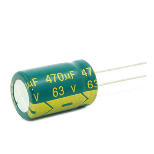 6.3-450V High Frequency LOW ESR Radial Electrolytic Capacitor 10-10000uF 105C