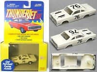 1999 - Playing Mantis - Johnny Lightning - Thunderjet 500 - Chevy Corvette - HO Scale - Body fits your antique slot car chassis - Die Cast Chassis - Out of Production - Pull Back Racing Action - Collectible - New - 00090733393012 Toys