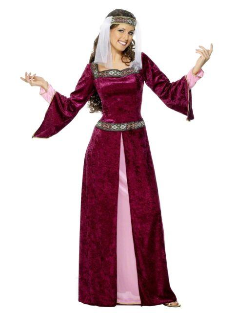Damen Mittelalter Kostüm Maid Marion Kostüm Alle Größen