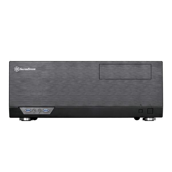 SilverStone GRANDIA GD09 HTPC-Gehäuse ATX/mATX  USB3.0 black